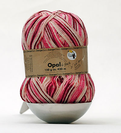 Opal Rainforest sock yarn