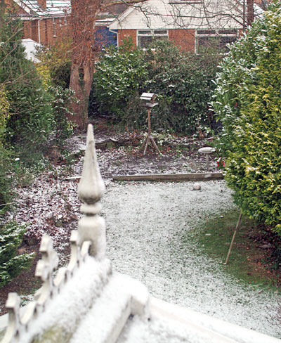 light dusting of snow
