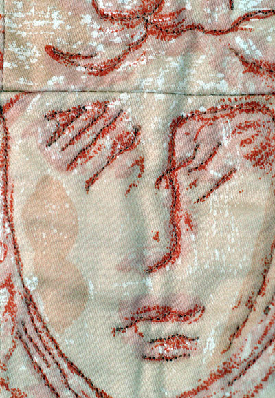 Close up of Terracotta Woman's face