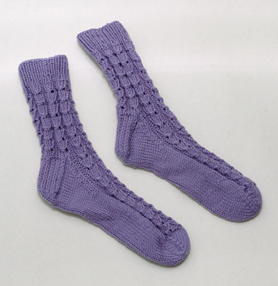 lilac bedsocks
