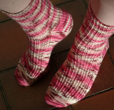 Twin Rib socks