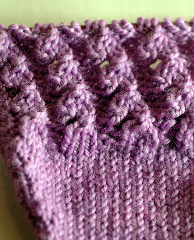 Laburnum sock pattern