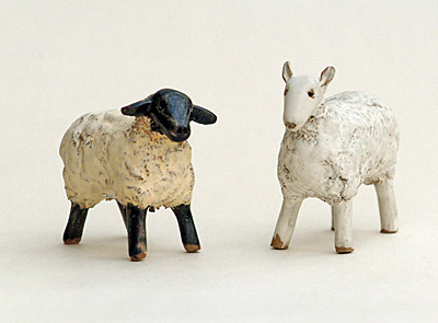 New Handmade sheep figures